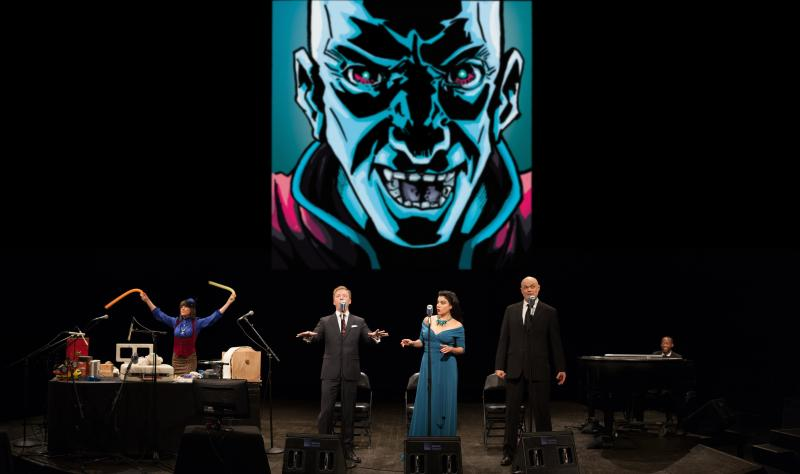 BWW Interview: THE INTERGALACTIC NEMESIS - TARGET EARTH Lands in Columbus, 3/12