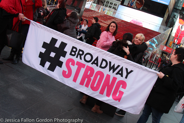 Photo Coverage: Broadway Unites in Times Square for International Women's Day!