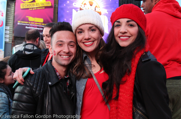 Daniel Quadrino, Kara Lindsay and Ana Villafane