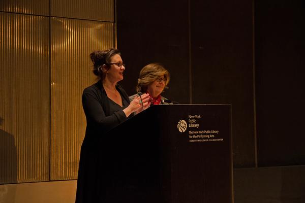 Carmel Owen and Lisa Rothe