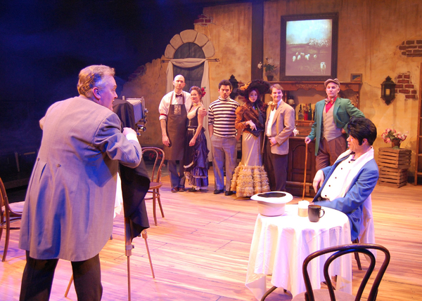 Photo Flash: PICASSO AT THE LAPIN AGILE Opens this Weekend at Open Book