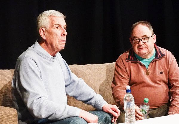Photo Flash: In Rehearsal with DOG ENDS at Tabard Theatre