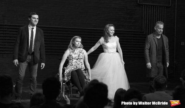 Finn Wittrock, Madison Ferris, Sally Field and Joe Mantello