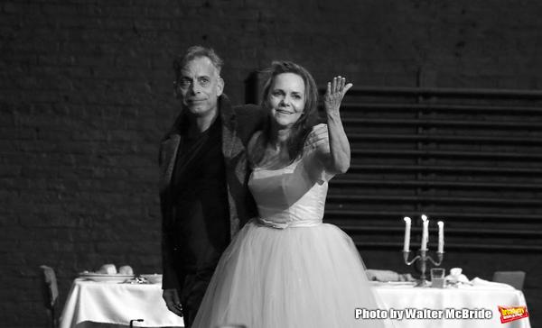 Joe Mantello and Sally Field