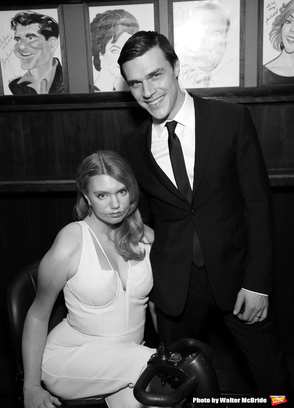 Madison Ferris and Finn Wittrock