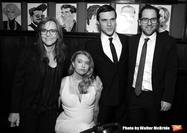 Sally Field, Madison Ferris, Finn Wittrock and Sam Gold