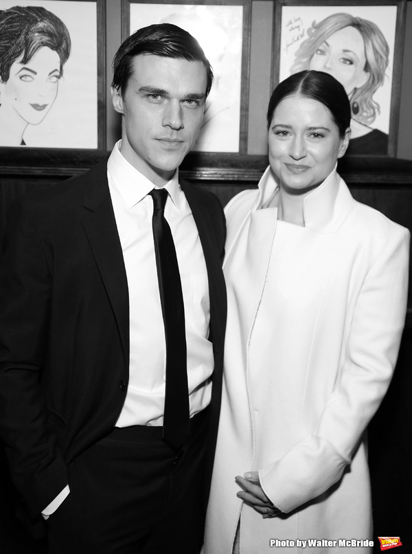 Finn Wittrock and wife Sarah Roberts