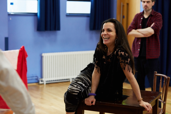 Photo Flash: In Rehearsal with I CAPTURE THE CASTLE at Watford Palace Theatre