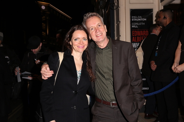 Cath Mason and Frank Skinner