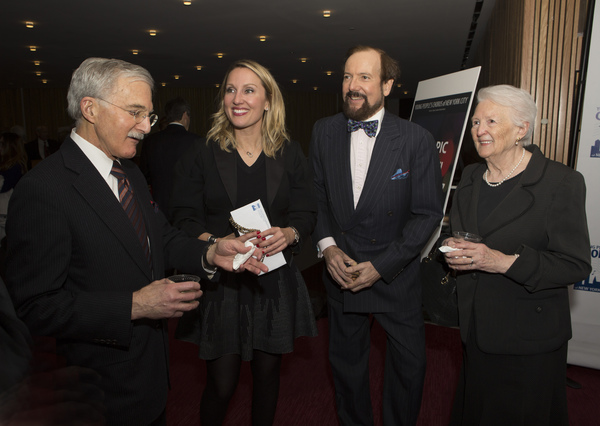 Rory Radding, Lacey Johnson, J. B. Harrison, and Mrs. David
