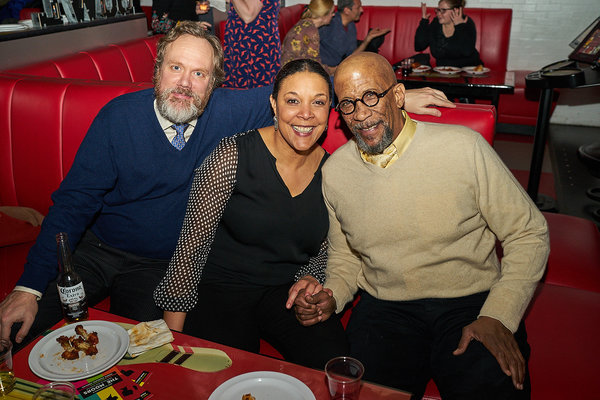 Andrew Garman, Linda Powell, Reg E. Cathay  Photo