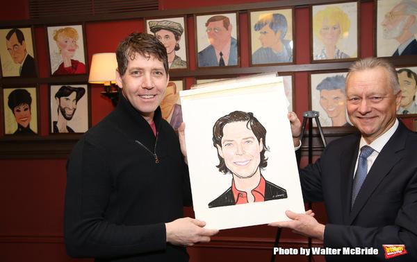 Photos: James Barbour Celebrates Sardi's Portrait Unveiling