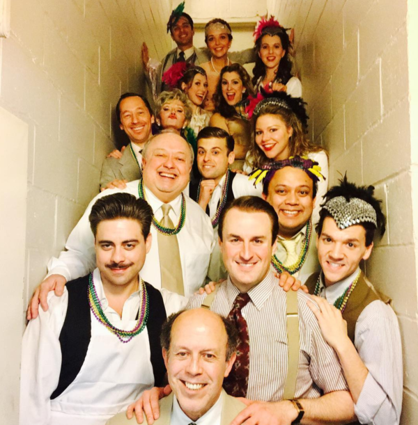Louisiana Purchase (Off-Broadway: @jayparanada Mardi Gras matinee of Irving Berlin's LOUISIANA PURCHASE with Musicals Tonight!  #sip #saturdayintermissionpic #musicalstonight #musical #mardigras #irvingberlin #broadwayworld #theatrerow #louisianapurchase