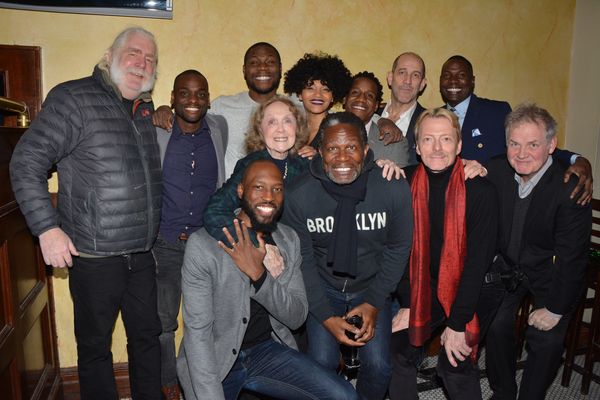 Carl Hendrick Louis, Reggie Talley, Obi Abili, Angel Moore, William Bellamy, Andy Murray and Sinclair Mitchell, John Douglas Thompson, Bob Flanaghan, Ciaran O''Reilly, Barry McNabb and Charlotte Moore