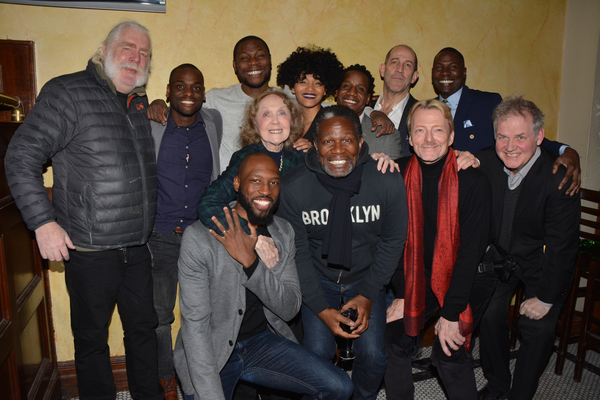 Carl Hendrick Louis, Reggie Talley, Obi Abili, Angel Moore, William Bellamy, Andy Murray and Sinclair Mitchell with John Douglas Thompson, Bob Flanagan, Ciaran O''Reilly, Barry McNabb and Charlotte Moore