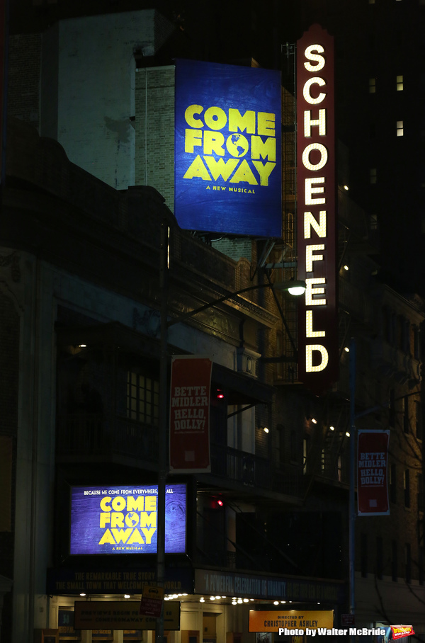 Photo Coverage: COME FROM AWAY Takes Opening Night Bows!