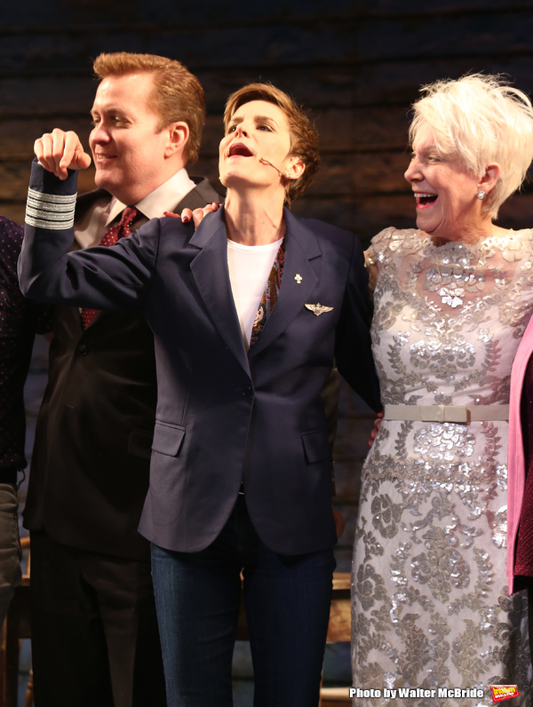 Jenn Colella and Beverly Bass