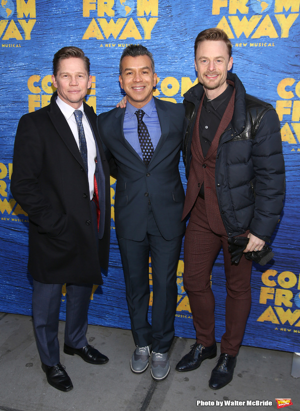 Jack Noseworthy, Sergio Trujillo and Christopher Wheeldon
