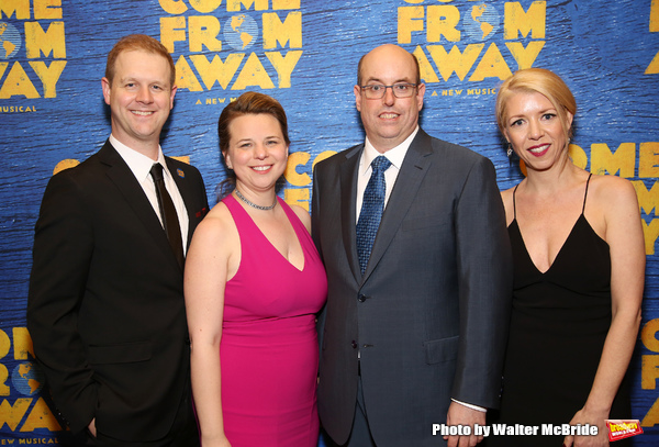 David Hein, Irene Sankoff, Christopher Ashley and Kelly Devine