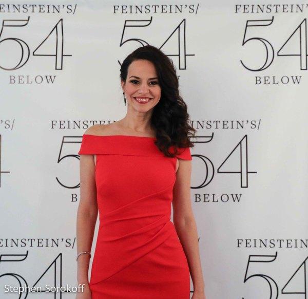 Photo Coverage: Mandy Gonzalez Raises The Roof at Feinstein's/54 Below