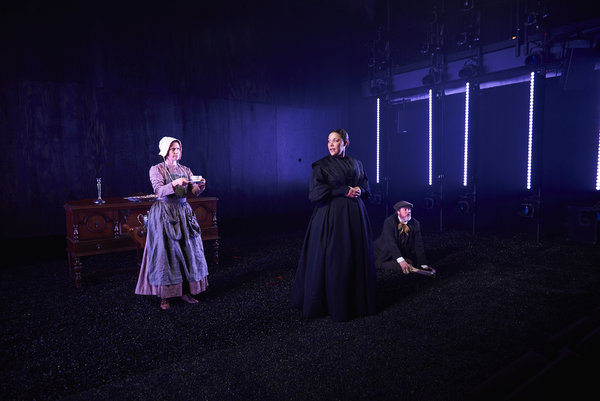 Hannah Cabell, Linda Powell, Andrew Garman Photo