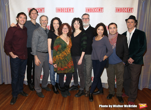 "The cast attends the ""Indecent"" Media Day at Playwrights Horizons on March 13, 2017 in New York City."