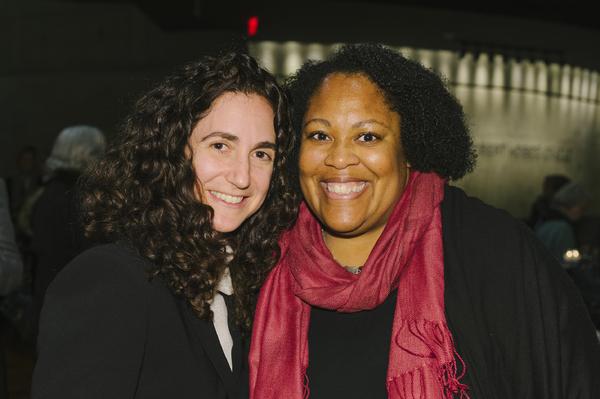 Director Daniella Topol and playwright Jacqueline E. Lawton