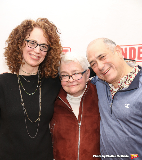 Rebecca Taichman, Paula Vogel and David Dorfman