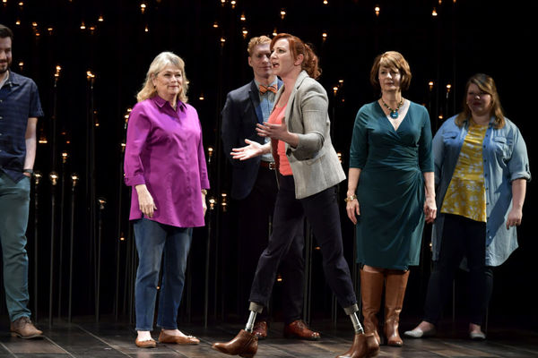 Greg Maraio, Karen MacDonald, Ed Hoopman, Katy Sullivan (front center), Paula Plum, Rachel Belleman