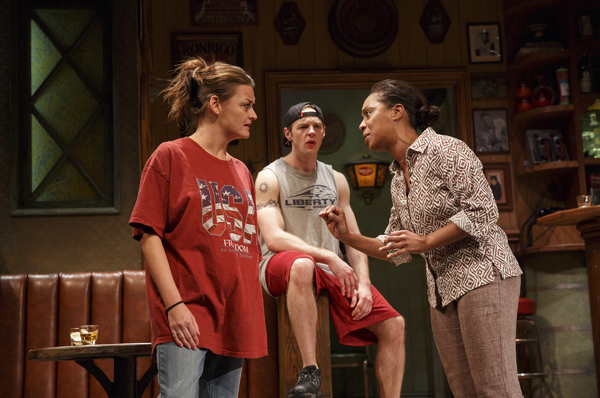 Alison Wright as Jessie, Will Pullen as Jason and Michelle Wilson as Cynthia. Photo by Joan Marcus