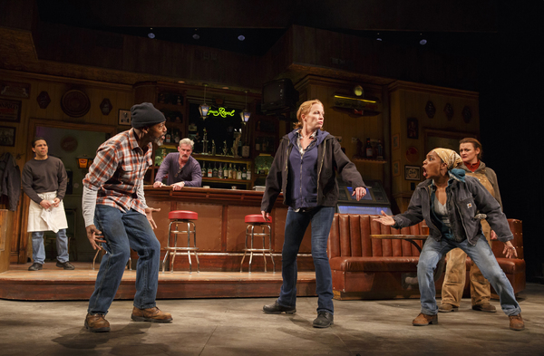 Photo Flash: First Look at Johanna Day, Michelle Wilson, Khris Davis and More in Lynn Nottage's SWEAT on Broadway