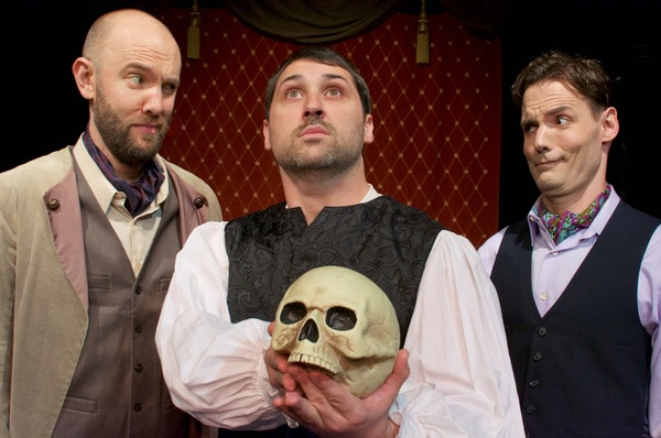 Photo Flash: The City Theatre Austin presents Redux in Rep: HAMLET WITH ROSENCRANTZ AND GUILDSTERN ARE DEAD