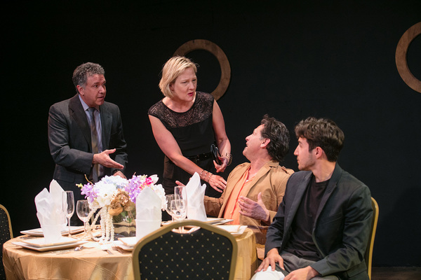Gary Lamb, Carolyn Almos, Ric Salinas and Kenneth Lopez Photo