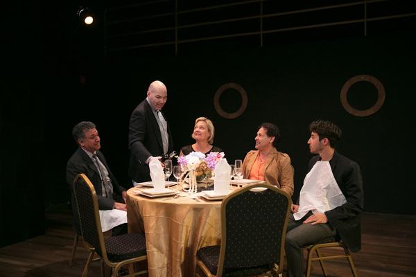 Gary Lamb, Brian Wallace, Carolyn Almos, Ric Salinas and Kenneth Lopez Photo