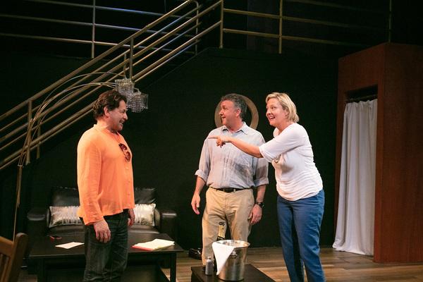 Ric Salinas, Gary Lamb, Carolyn Almos
