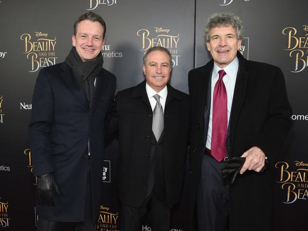 Sean Bailey, Alan Bergman, and Alan Horn