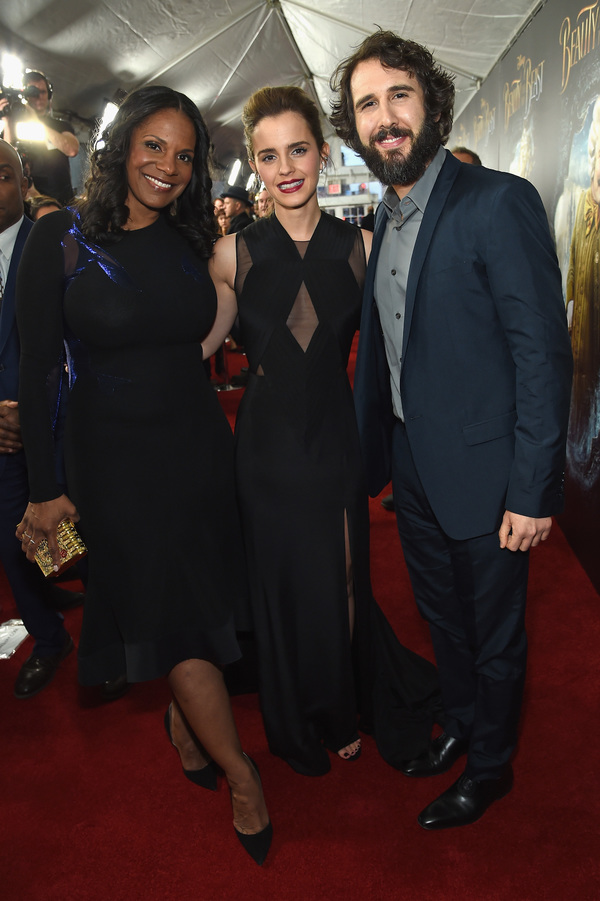 Audra McDonald, Emma Watson, and Josh Groban