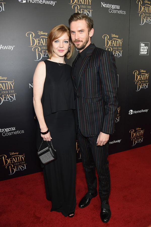 Susie Hariet and Dan Stevens