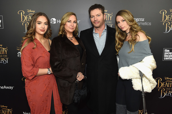 Sarah Kate Connick, Jill Goodacre, Harry Connick Jr. and Georgia Connic