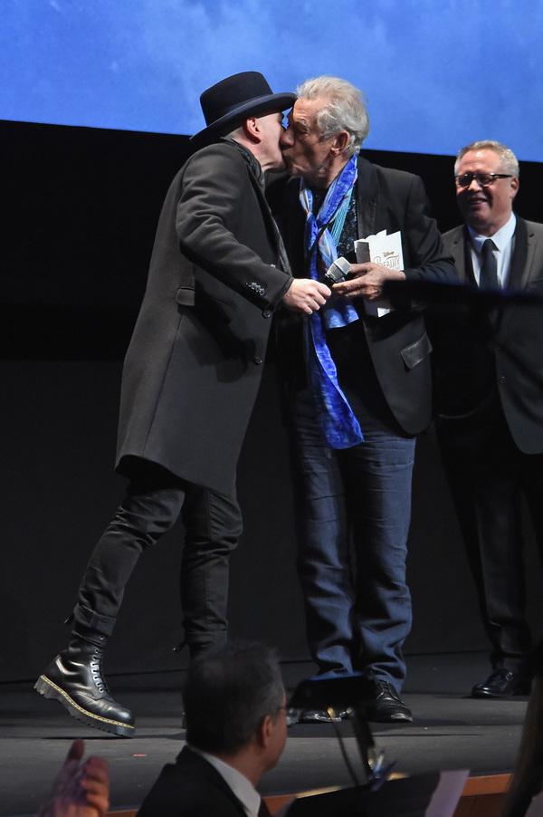 Ewan McGregor and Ian McKellen