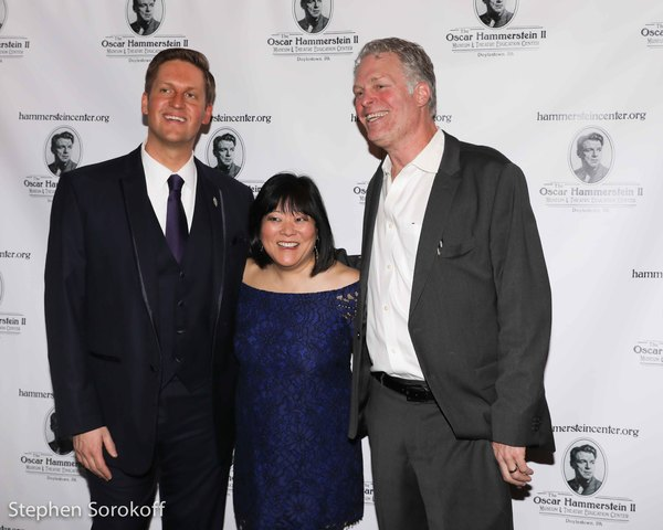 Steve Schonberg, Ann Harada, William Hammerstein Photo