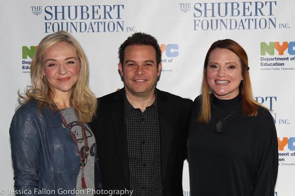 Rachel Bay Jones, Peter Avery and Jennifer Laura Thompson