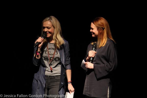 Rachel Bay Jones and Jennifer Laura Thompson