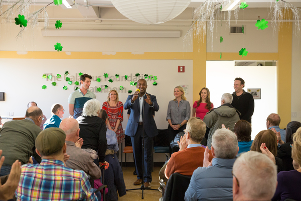 Photo Flash: Jessica Hendy and the Cast of CATS Sing for Seniors in Midtown