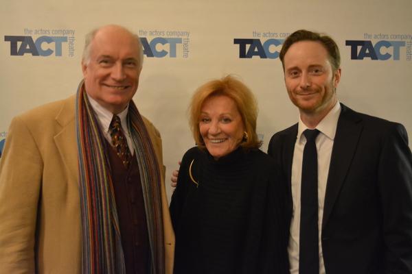 Simon Jones, Cynthia Harris and Jeffrey C. Hawkins Photo