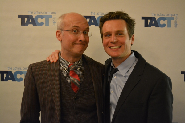 Jeff Talbott and Jonathan Groff Photo