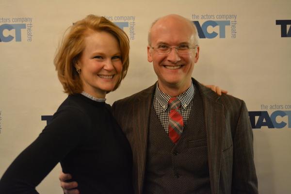 Kate Baldwin and Jeff Talbott