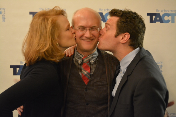 Kate Baldwin, Jeff Talbott and Jonathan Groff