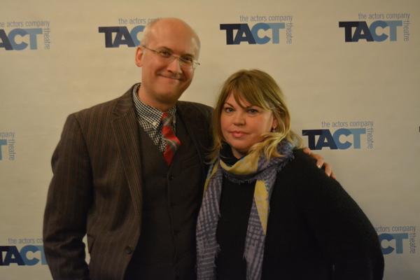 Jeff Talbott and Jenn Thompson