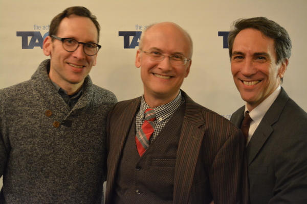 Stephen Kunken, Jeff Talbott and Robert Sella